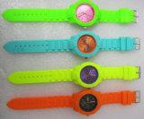 Plastikfall und Brücke-Schweizer Bewegungs-wasserdichte mehrfache Farben-Fantasie-Uhren