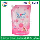 Bolsa del canalón para el detergente de lavadero suave del bebé