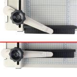 Máquina do ajustador do cortador de papel da guilhotina do cortador de papel 17 cortador de papel resistente do alinhador longitudinal da polegada A3 da ferramenta de estaca 17 da polegada