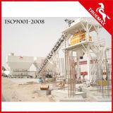 Planta de mistura concreta estacionária média da máquina 60m3 da construção