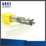Резец торцевой фрезы носа стального шарика вольфрама CNC 50HRC 4flute