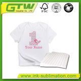 Transfert de sublimation, type de papier foncé de transfert de T-shirt et type matériel papier de papier de T-shirt