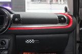 Cubierta de rectángulo protegida ULTRAVIOLETA material de guante del estilo de Chequred del ABS a estrenar para Mini Cooper F54 (1PCS/Set)