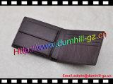 RFID преграждая кожаный бумажник людей с бумажником владельца карточки