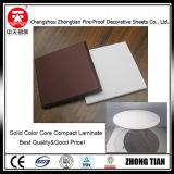 Het formica Phenolic Stevige Gelamineerde Blad van Colorcore HPL
