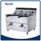 Friteuse profonde du gaz GF72 (panier 2-tank/2)/matériel commercial de cuisine friteuse commerciale de la Turquie