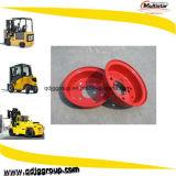 4.50-12 5.00-12 6.50-12 8.00-12 ruedas de acero partidas del borde para las máquinas industriales