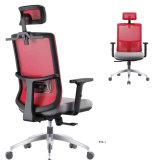 Cadeira executiva giratória de escritório de alto muro traseiro para chefe