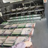 Carnet estampé par coutume en gros d'exercice d'école de cahier de papier chinois de bloc-notes
