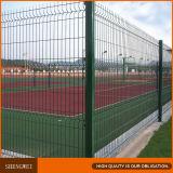 Зеленая Coated загородка граници сада ячеистой сети с высоким качеством