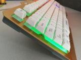 2017 o laser prendido novo do teclado Djj219 de Gamer da projeção do laser cinzelado rotula o teclado