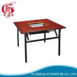 Table de salle à manger pliante en bois à prix abordable 2017 avec chaise