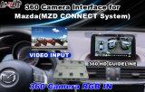 Surface adjacente d'appareil-photo de panorama de l'appareil-photo 360 de vue avant d'appareil-photo de vue arrière pour Audi/Mazda/Infiniti/Porshce/Honda avec les directives actives de stationnement