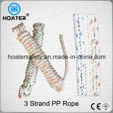 3繊維の屋外の使用のためのツイスト耐久財PP/PEプラスチックロープ
