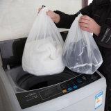 1050 dünne Linien mit einem verdickten Drawstring-Beutel der Wäscherei-Kleidung, die Unterwäsche-Büstenhalter-Beutel-unterstützenden Ineinander greifen-schützenden waschenden Nettobeutel wäscht