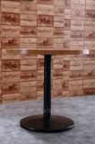 Tavola rotonda del ristorante con il piedino del ghisa (SP-MTL156)