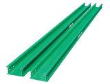 Vano per cavi d'acciaio perforato della scaletta del vano per cavi con il certificato del Ce