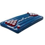 Поплавок таблицы Pong смешного хорошего пива PVC или TPU игры воды раздувной