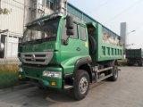 Sinotrukの新しい黄河4X2 6の荷車引き8m3のダンプトラック