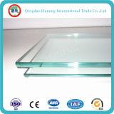 6m m 8m m 10 milímetros borran el vidrio de flotador para las puertas de cristal de Windows de cristal