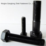Fasteners DIN931 High Strength Bolts with Carbon Steel/Grade 4.8