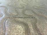 Hohes Abnutzungs-Widerstand-geprägtes Perlen-Effekt synthetisches Belüftung-Schuh-Leder/Sofa-Leder