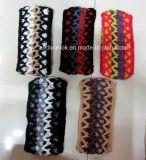 Nuovo turbante della sciarpa di Neckwarmer dello scaldino dell'orecchio della fascia lavorato a maglia 100% di disegno