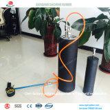 Balão de borracha da tubulação da boa tensão para a tubulação de gás