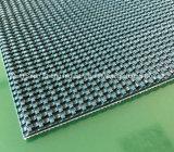 Bande de conveyeur antidérapante de PVC de surface approximative de configuration d'herbe de qualité