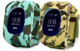 Wristwatch Guardia Intelligente вахты отслежывателя Q50 ребенка GPS дети Sos Q50 контроль франтовского спутниковые располагая вахту Camouflag