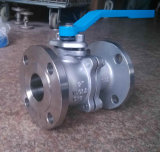 ANSI 150lbのステンレス鋼のフランジの球弁