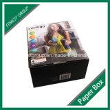 Plantilla plegable de papel de cartón caja de presentación (FP0200069)