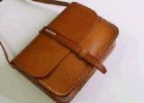 Sacchetto di cuoio dell'imbracatura dell'unità di elaborazione per le borse di modo delle donne (BDMC069)