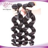 Da onda frouxa indiana do cabelo humano do Virgin extensões baratas do cabelo