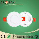 Ctorch 2017 170-240V 세륨 승인을%s 가진 둥근 LED 위원회 빛 3W