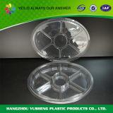 De duidelijke Plastic Container van het Voedsel met Verdeler/de de Plastic Dozen van de Opslag/Container van het Voedsel