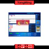 Reslutの表示Ym-Ec02の標準限界の印の火かき棒表が付いている016の青カラーバカラのカジノシステム/