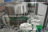 충전물 기계에 있는 자동적인 물 병조림 공장 3in1