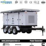 移動式ディーゼル発電機20kVAへの500kVA