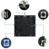 極めて薄い軽量の屋内使用料6mm高い定義LED表示スクリーン