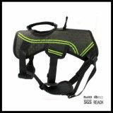 La comodità ha riempito non il cablaggio della maglia del cane di animale domestico di tiro con la maniglia di addestramento