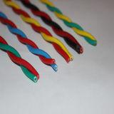 Fio flexível do revestimento de PVC do condutor do cobre da alta qualidade de Rvs