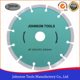 150 mm Segmento sinterizado Hoja de sierra para hormigón