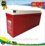 bateria terminal do gel da parte dianteira de bateria acidificada ao chumbo de 100ah 12V para telecomunicações