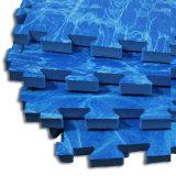 Étage imperméable à l'eau de couvre-tapis de Taekwondo de couvre-tapis de lutte de mousse d'EVA de sûreté
