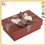 주문을 받아서 만들어진 로고 마분지 종이 선물 포장 상자