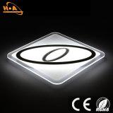 Moderner Deckenleuchte-Kristall der Quadrat-ultra dünner Innenbeleuchtung-LED