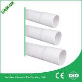 Tubo gris del PVC del tubo del color gris del tubo del PVC