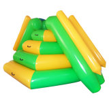 Jogo de parque aquático Inflável Tarpaulin Climb and Bouncer