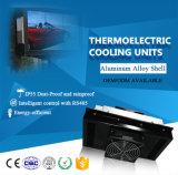 SD-200-24 24V bewegliche Luft-Kühlvorrichtung mit Ventilator, Halbleiter-Kühlvorrichtung